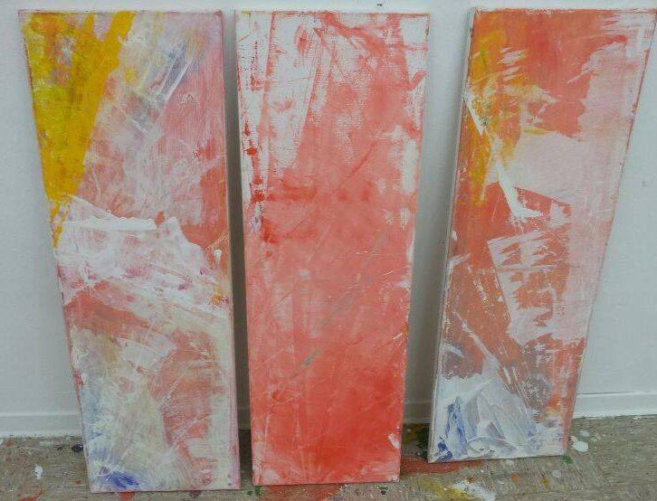Bettina Lock Abstrakt I Malerei