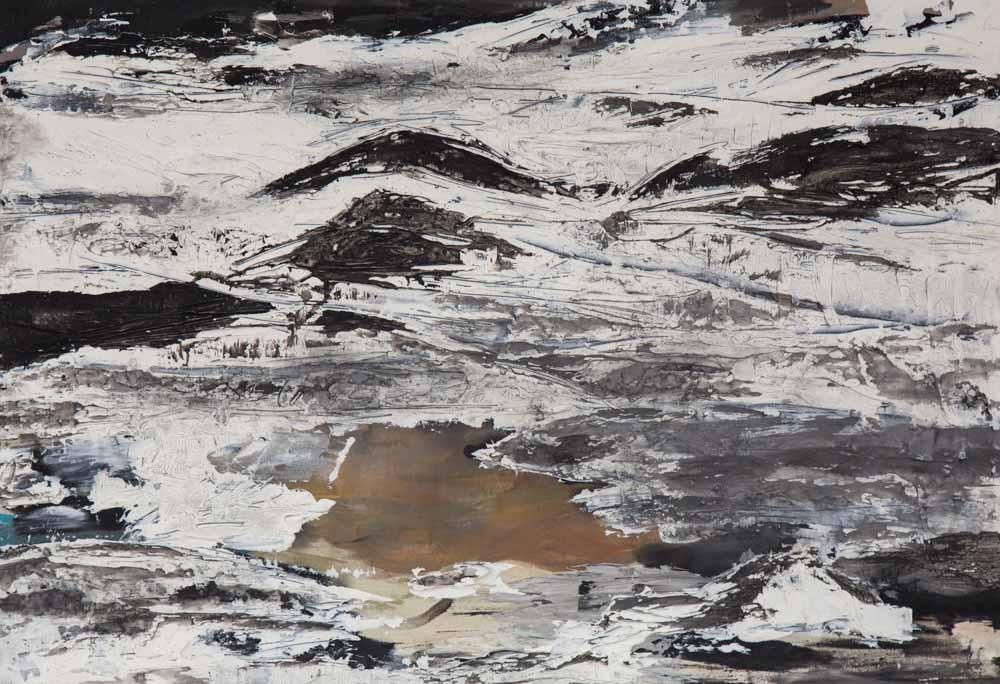 Bettina Lock Malerei Vatnajoekull XIII