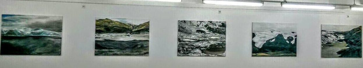 Vatnajökull Atelier Bettina Lock Bonn